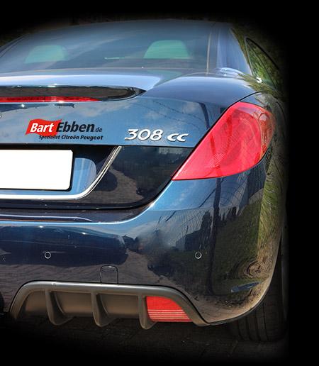 Gebrauchte Ersatzteile Peugeot 308 cc cabriolet unverbindlich anfragen